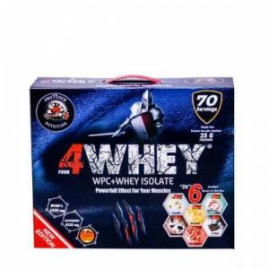 Protouch 4Whey 2450 Gr 70 Şase 6 Aroma