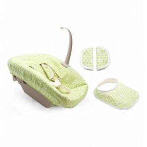 Stokke Tripp Trapp New Born Kılıf / Green Dots