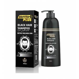 Softto Plus Black Hair Shampoo 350ml siyah şampuan