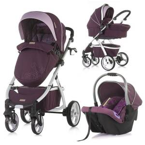Chipolino Up & Down 2in1 Travel Sistem Bebek Arabası Amethyst