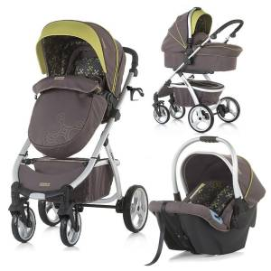 Chipolino Up & Down 2in1 Travel Sistem Bebek Arabası Truffle