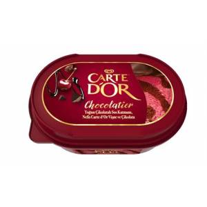 Algida Carte d'Or Chocolatier Cherry Vişne 750 Ml
