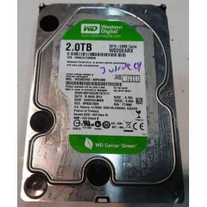 Western Digital 2 TB 7200 rpm Green Sata3 64 Mb WD20EARX OUTLET