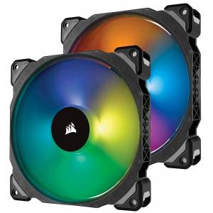 Corsair ML140 Pro 140mm PWM RGB Led Dual Fan CO-9050078-WW