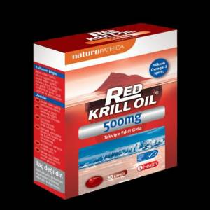 NATURAPATHICA RED KRILL OIL 500Mg 30 kapsül