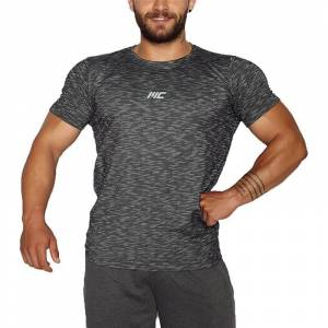 MuscleCloth Pro T-Shirt Siyah X-LARGE