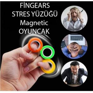fingears , Magnetic Rings Toy  fingears anti-stress fingears