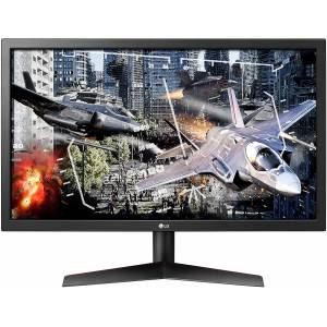 LG 24 24GL600F-B 1920x1080 1ms / 144Hz DP / 2xHDMI FULL HD FreeSync Gaming Monitör