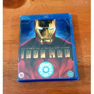 Iron Man Demir Adam Bluray 2-Disk Special Edition 2008 Robert Downey Jr. Ambalajında