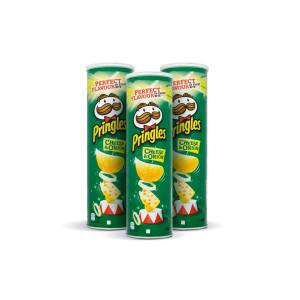 Pringles Cheese&Onion 165 Gr / 3 Adet