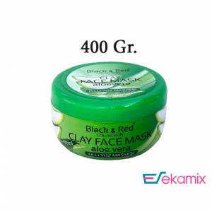 Black Red Collection Clay Aloe Vera Killi Yüz Maskesi 400 Gr.