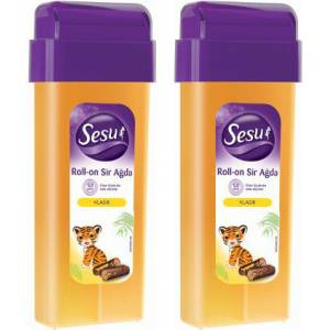 Sesu Roll-On Sir Ağda Normal Tüyler 100 ml x 2 Adet