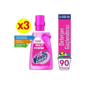 Vanish Multipower Deterjan Güçlendirici 3 x1500 ml