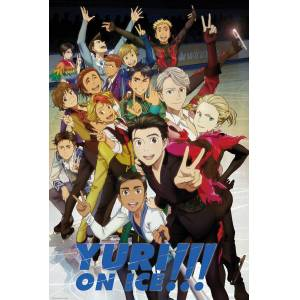 YURI ON ICE CHARACTERS MAXI POSTER İTHAL