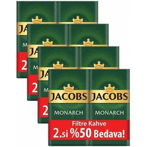 Jacobs Monarch Filtre Kahve 2 x 500 gr 4'lü Set (4 kg)