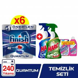 Finish Quantum (40x6) + Marc Sprey Set + Vanish Tül Sistem