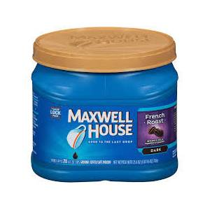 Maxwell House French Roast Ground Coffee 726 GR