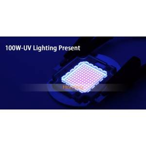 100W UV ULTRAVIOLE SMD LED Chip 395-400nm BAKIR KAFES