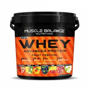 Muscle Balance Nutrition Whey Advanced Protein Fruit Festival 3150 Gr