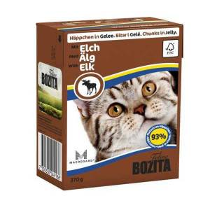 Bozita Chunks İn Jelly With Elk Kedi Konservesi 370 Gr 12 adet