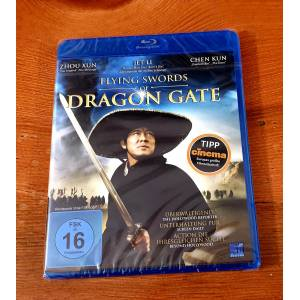 The Flying Swords of Dragon Gate Bluray 2011 Jet Li Türkçe Yok Ambalajlı