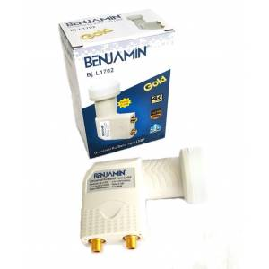 Benjamin Twin LNB 0,1dB - Full HD 4K Uyumlu