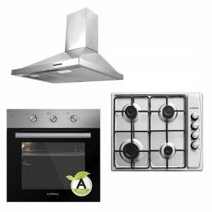Luxell Inox Project Ankastre Set