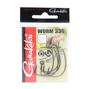 Gamakatsu Worm 330 Bottom Jigging Olta İğnesi No:2/0