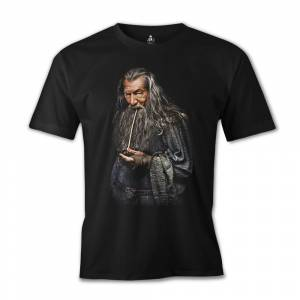 Lord of the Rings - Gandalf Siyah Erkek Tshirt