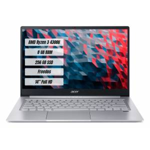 ACER SWİFT 3 SF314-42 R3-4300U 8GB 256SSD 14 FREEDOS NX.HSEEY.003