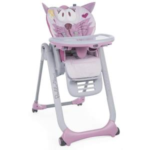 Chicco Polly 2 Start Bebek Mama Sandalyesi Pembe