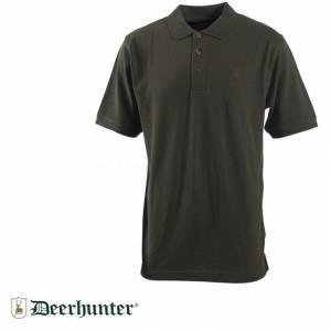 DEERHUNTER Berkeley378 Polo Yaka Bark Yeşil Tişört