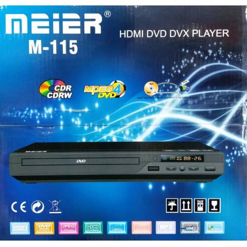 Meier M-115 HDMI DivX USB MP3 DVD Player