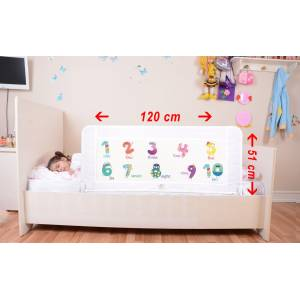 Baby Bed Barrier - White