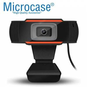 MİKROFONLU Hd Webcam Kamera Bilgisayar Laptop Ders 720P Eba Skype Zoom Teams 30 FPS AL2543