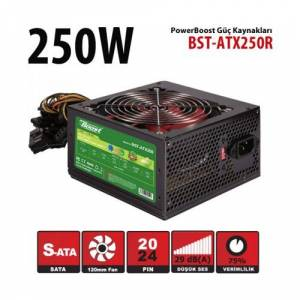 BOOST BST-ATX250R 12CM 250W POWER SUPPLY