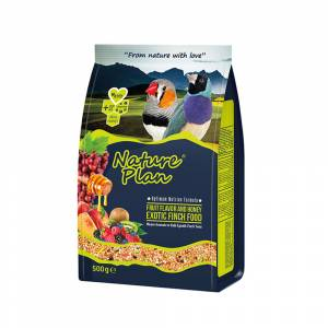 Natural Plan 500Gr Meyve Aromalı Balli Exotic Finch Yemi 18