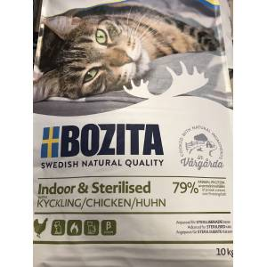 Bozita indor sterilised tavuk 10 kg
