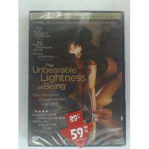 THE UNBEARABLE LİGHTNESS OF BEİNG DVD SIFIR AMBALAJINDA YILMAZ VİDEO TAHTAKALE