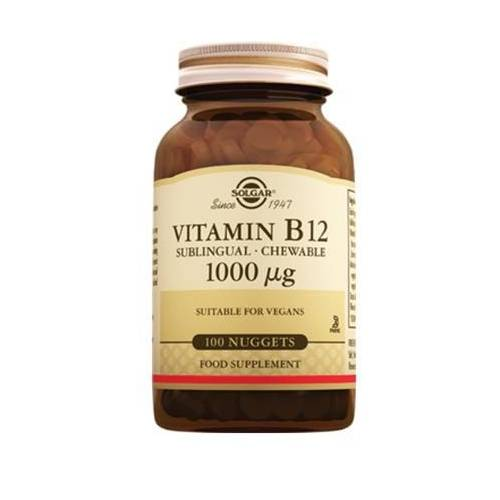 Solgar Vitamin B12 1000 mg Dil Altı 100 Tablet