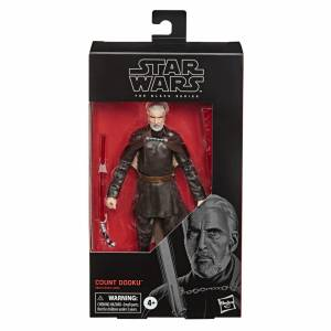 Star Wars Attack of the Clones Black Series Count Dooku