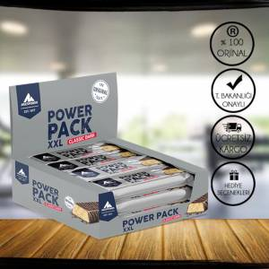 Multipower Power Pack XXL Protein Bar 60 Gr 12 Adet + Hediye