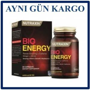 Nutraxin Big Energy 60 Kapsül
