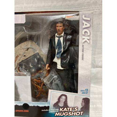 McFarlane Lost Tv Show Series 1 Jack Action Figure