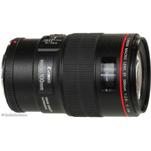 Canon EF 100mm F/2.8L IS USM MAKRO LENS Hediyeli