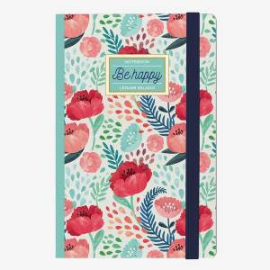 Legami Defter Flowers Be Happy
