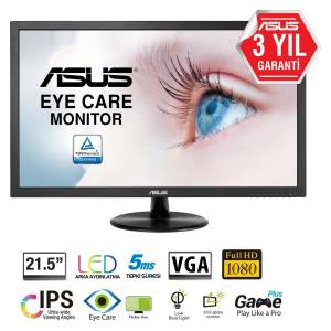 Asus VP228DE 21.5 5ms (Analog) LED Monitör