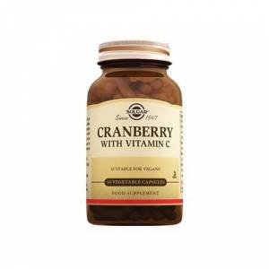 Solgar Cranberry with Vitamin C 60 Kapsül