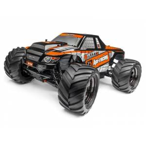 HPI 115508  Trimmed & Painted Bullet MT Body (Black) w/Decals