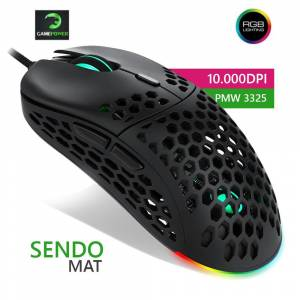 GamePower Sendo RGB 10.000DP Mat Oyuncu Mouse